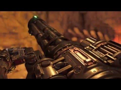Doom 2016 Campaign 34 Kadingir Sanctum Chaingun And Praetor Token
