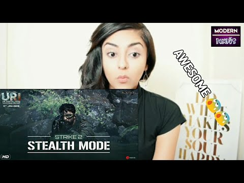 URI | Strike 2 - Stealth Mode Reaction | Vicky K,  Yami G,  Aditya Dhar, Paresh R