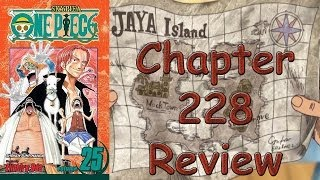 One Piece Chapter 228 Review - Mont Blanc Cricket, The Last Boss Of The Monkey Mountain Allied Force