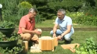 видео Технология NATURI – строим дом из вертикального профилированного бруса