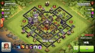 BM049 Balloons and Minions Strategy against champion level opponent - Clash of Clans CoC