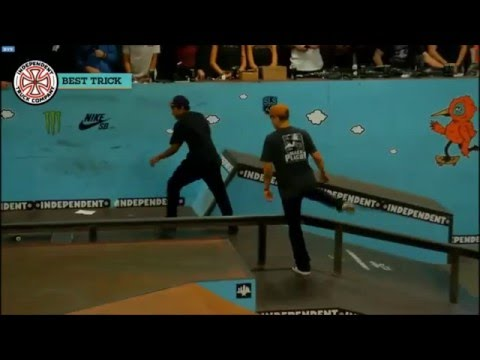 Tampa Pro 2016 (Independent Trucks Best Trick Contest)