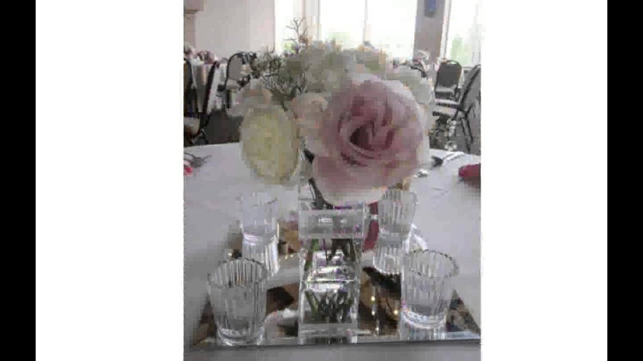 Wedding Table Decorations Mirrors [freyalados] YouTube