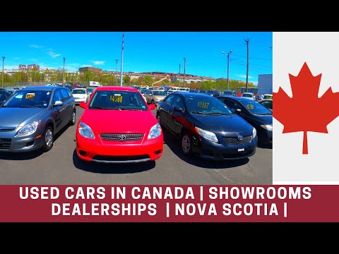 കാനഡ   Used Cars In Canada   Used Car Showrooms Visit In Halifax   Nova Scotia  