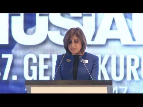 TÜSİAD 17. Dönem YK Başkanı Cansen Başaran-Symes'ın ''47. Genel Kurul'' Toplantısı Açılış Konuşması
