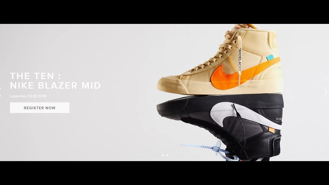 newest 32b22 9f96a Virgil Abloh X The Ten Nike Blazer Mid off White   How Many Pairs Made