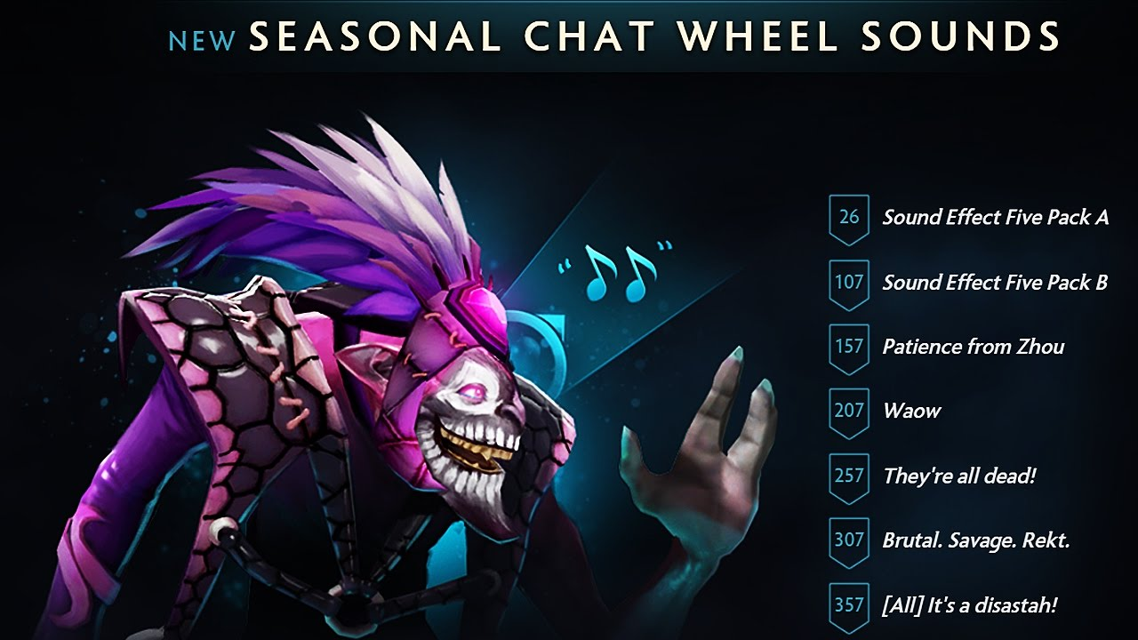 dota 2 the international 7 battle pass all chat wheel sounds