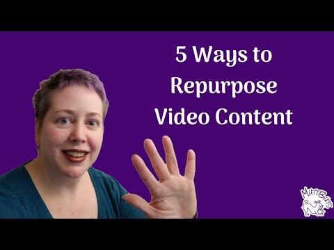 5 Ways to Repurpose Video Content