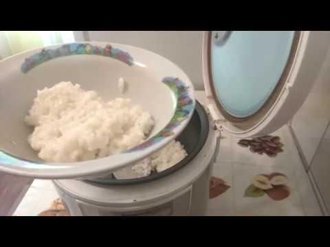 Рисовая каша в мультиварке панасоник 18 на воде