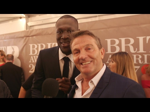 When Bradley Walsh met Stormzy at the Brit Awards 2017