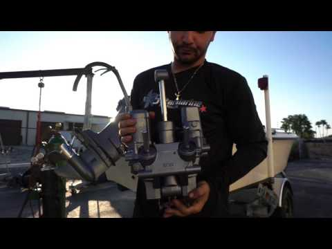 How To Remove Yamaha 60 70 85 90 3 Cyl Trim & Tilt Unit  6H1-15
