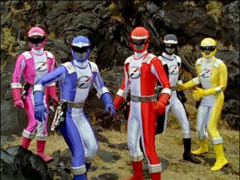 Power Rangers Operation Overdrive - The Underwater World - Power Rangers vs Chillers (Episode 3)