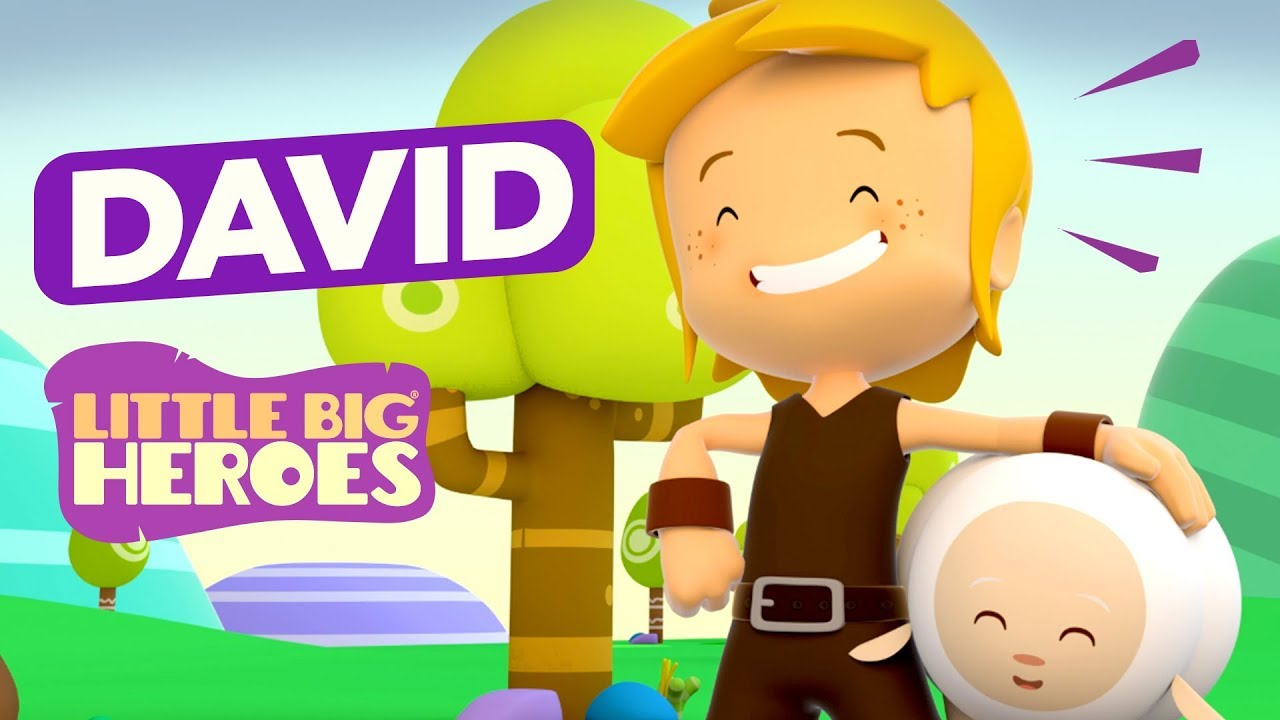David - Bible Stories for Kids - Little Big Heroes