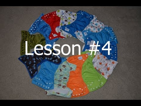 Lessson 4 - Snaps Vs Velcro Closures - Cloth Diapering 101