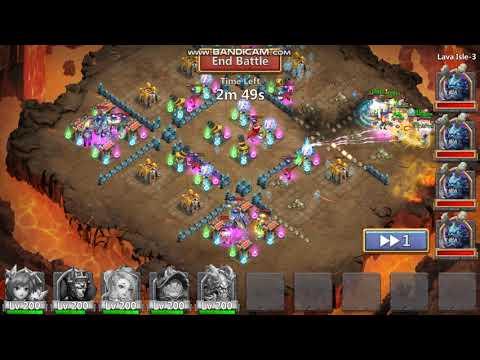 Castle Clash 2 Man Lava 3