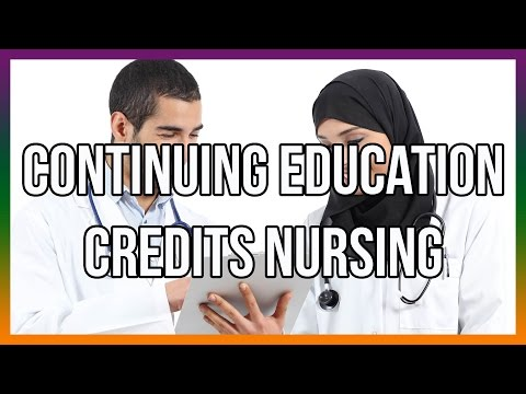 Continuing Education Credits Nursing