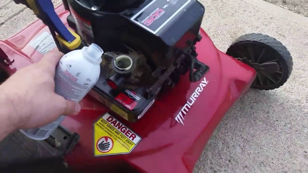 How to Run Seafoam Through Your Lawnmower