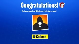 WHAT HAPPENS WHEN YOU REACH LEVEL 100 in FORTNITE SEASON 5? (Secret Skin Level 100 Rewards)