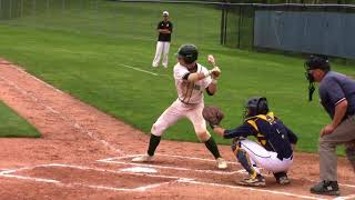 Clayton Kuipers senior baseball highlights Zeeland West MI Class of 2018