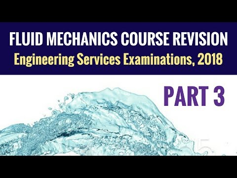 Fluid Mechanics Revision - UPSC ESE - Part 3 - Engineering Services Examination (ESE)