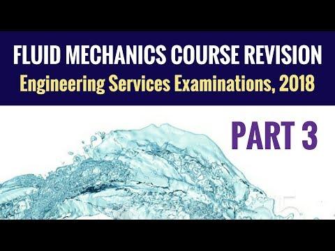 Fluid Mechanics Revision - UPSC ESE - Part 3 - Engineering Services Examination (ESE)