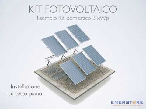 EnerStore.it - Il Kit Fotovoltaico
