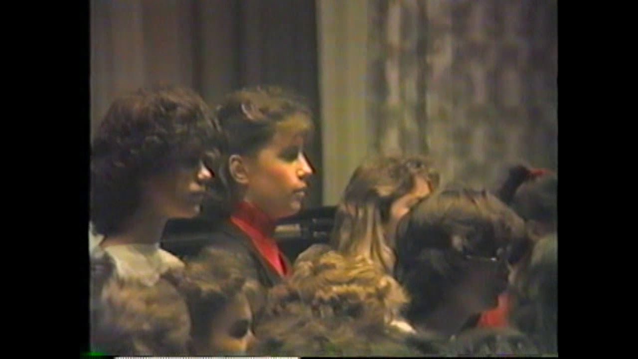 CCRS Christmas Program  12-22-86