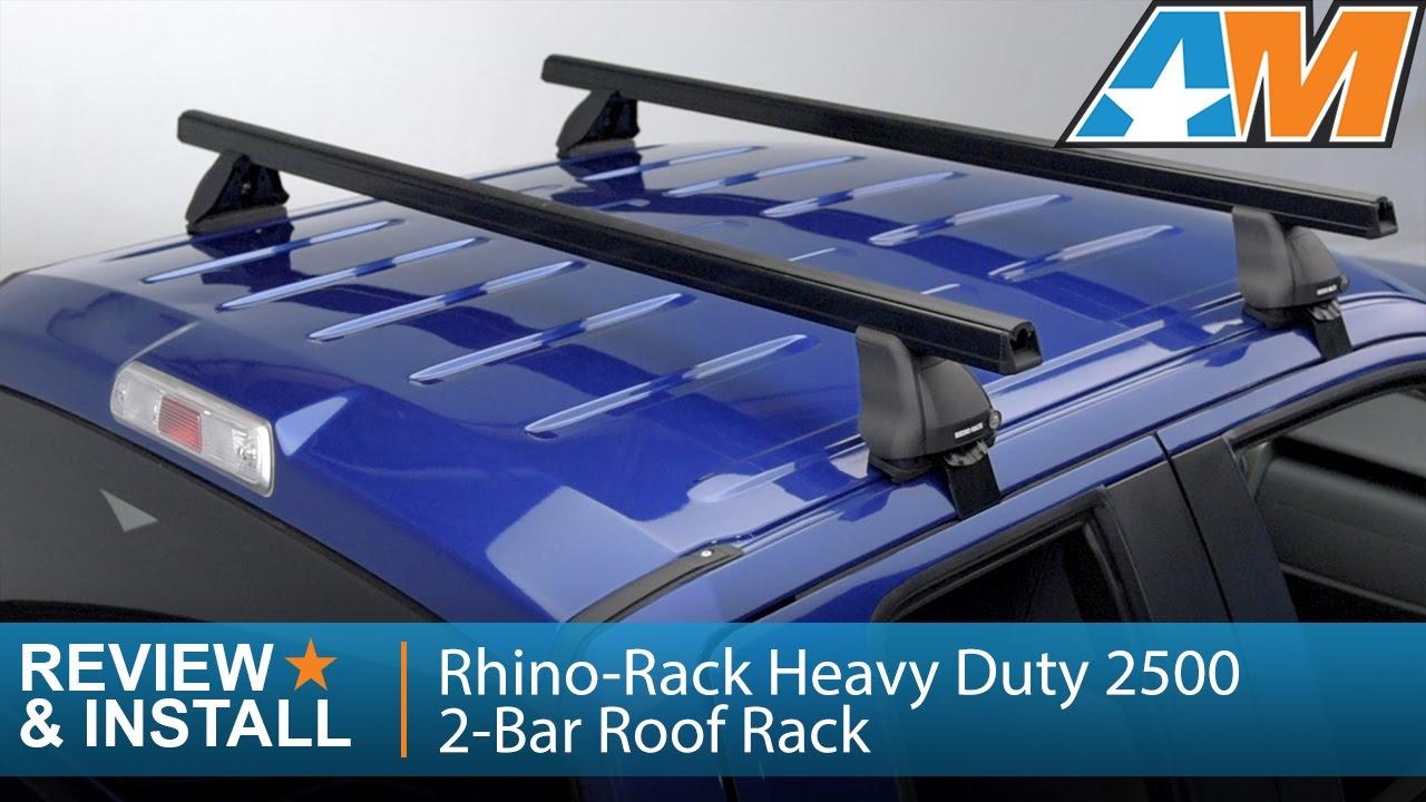 2004 2014 F 150 Rhino Rack Heavy Duty 2500 2 Bar Roof Rack Supercab
