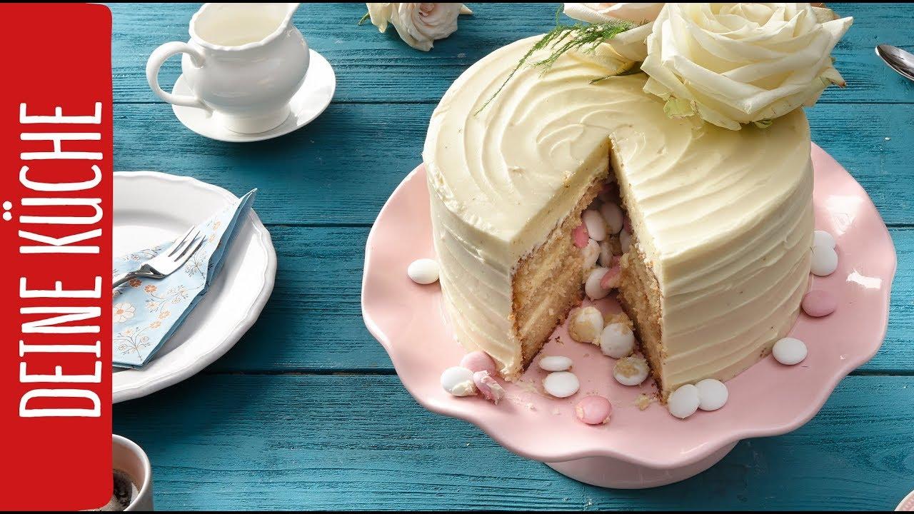 Pinata Torte Zum Muttertag Kuchenfee Lisa Rewe Deine Kuche Youtube
