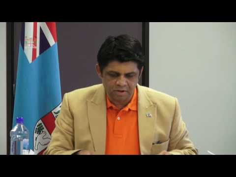 Fijian Attorney-General's Press Conference clarifying Fiji Times Headlines - 24/06/2016