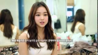 LG휘센 제습기 손연재 인터뷰 영상