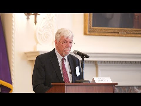 Freedom v. Fairness: Judge John M. True III considers labor laws and the free market