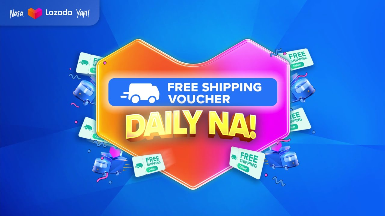 Free Shipping Vouchers, DAILY NA!!!