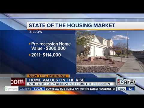 Report: Las Vegas housing market still rebounding from recession