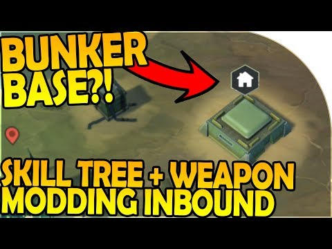 BUNKER BASES + SKILL TREE?! - WEAPON MODDING INBOUND - Last Day On Earth Survival 1.6.8 Update