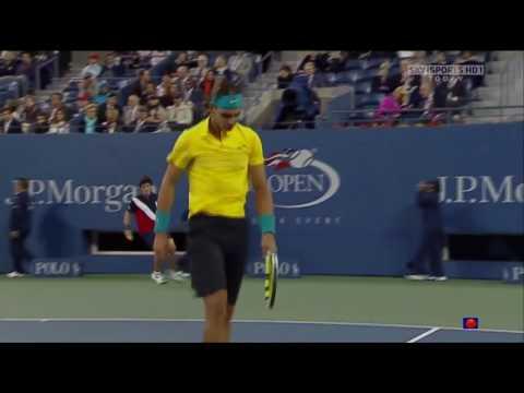 Nadal Vs Gonzalez - Us Open 2009 Highlights HD QF