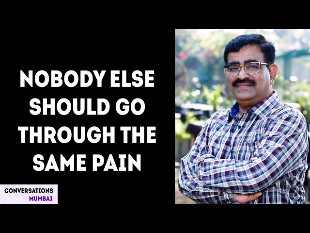 Repairing streets and hearts | Dadarao Bilhore | Pothole Dada | Conversations Mumbai