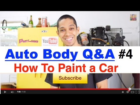 How To Make New Paint Match Old On A Car Learnautobodyandpaint Q Part 4