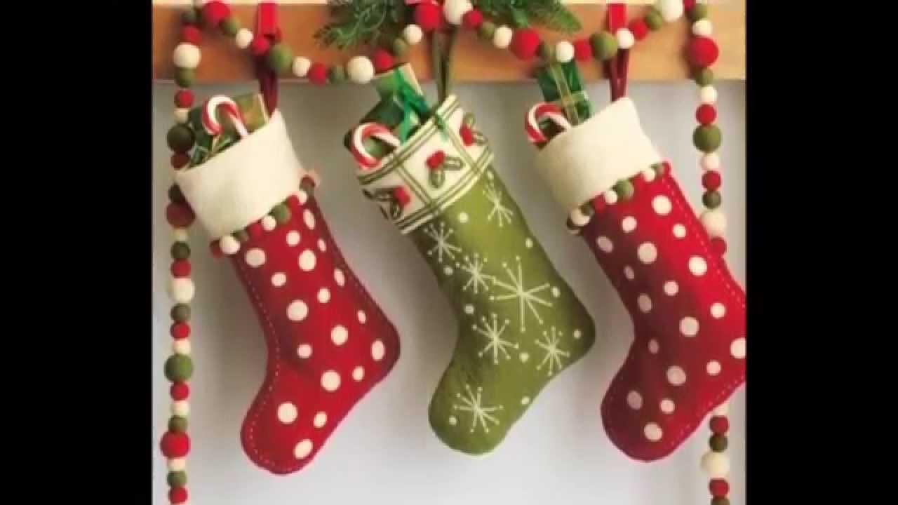 50 Ideias de artesanato e decoraç u00e3o de Natal ní YouTube -> Decoração Em Eva Natal