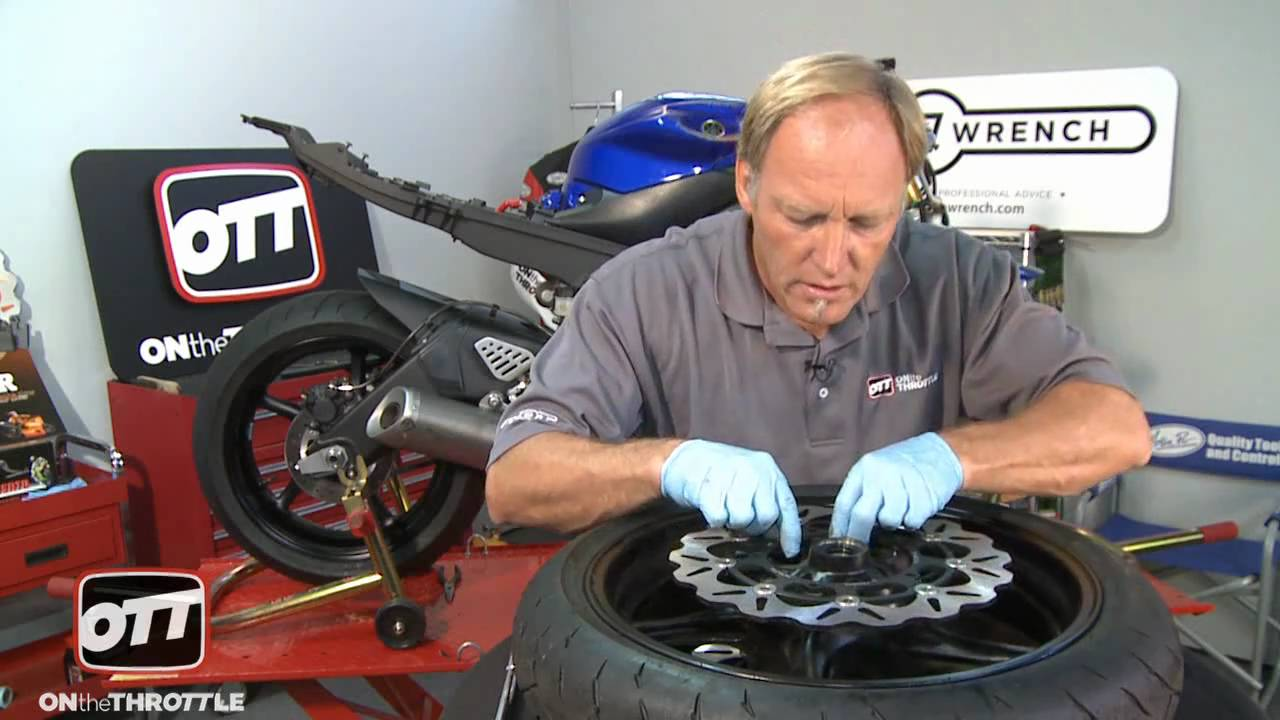 Performance Upgrades Yamaha YZF-R6 Front Brake Rotor Install