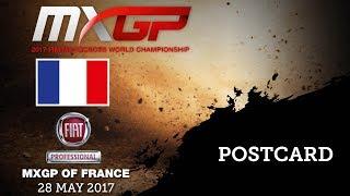 FIAT PROFESSIONAL MXGP of FRANCE 2017 - Postcard