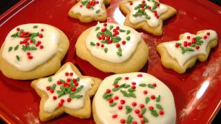 Eggless Sugar cookies with easy homemade Glaze