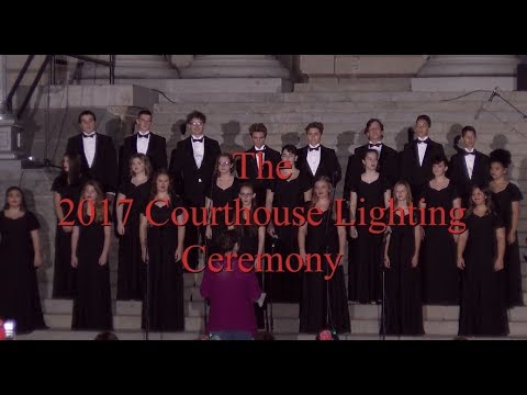 Prescott Courthouse Lighting 2017