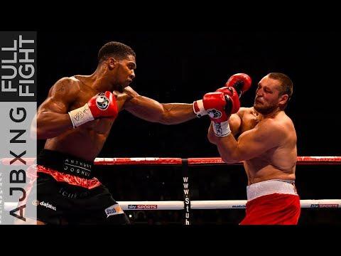 Full Fight | AJ Vs Denis Bakhtov TKO