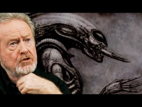 Ridley Scott Reflects on H.R. Giger's Monster in 2018