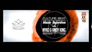 "25 Sept @ Culture Beat Club | ""Music Injection"" by First Class Event Designers with Nyko & Andy King"