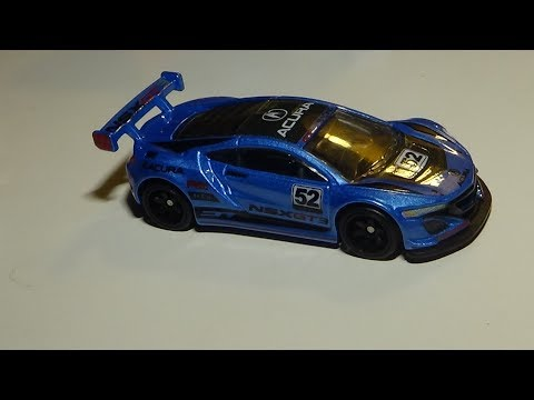 Hot Wheels Acura NSX GT3 Review