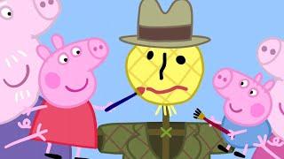 Peppa Pig en Español Episodios completos | El Espantapájaros 🎃 Feliz Halloween! 🎃 Pepa la cerdita