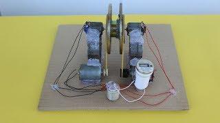 Free Energy Generator Self Running Machine Mobile Charging Using DC Motor