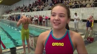 В Первоуральске прошли соревнования по плаванию